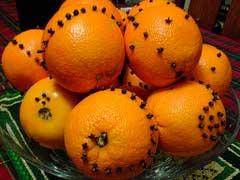 горка апельсиновых попандеров