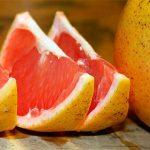 кусок грейпфрута