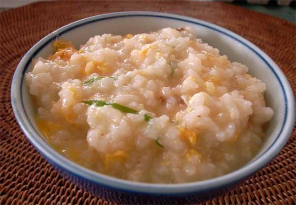 каша из риса и апельсина