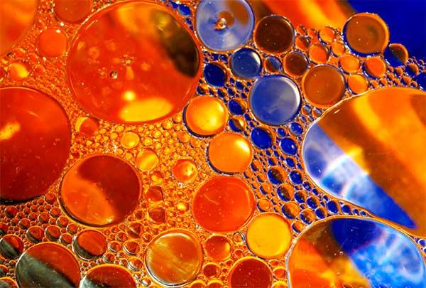 пузырьки в масле