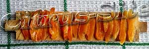 брусочки сушеных абрикосов