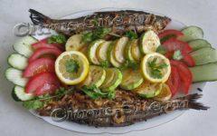 запеченная рыбка