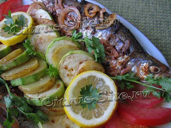 рыбешка с лимоном