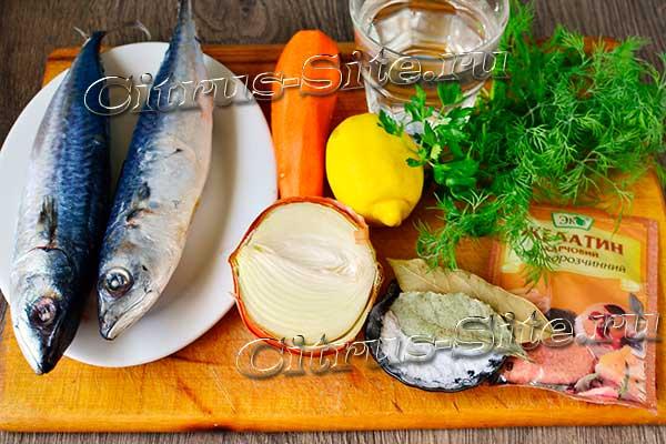 ингредиенты кушанья