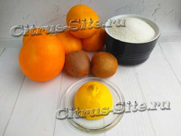 ингредиенты варенья