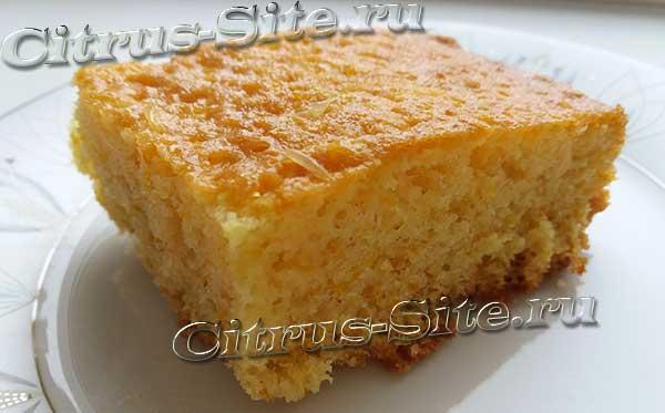 порезанный кекс
