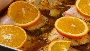 кружки апельсин